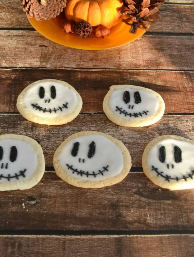 Fun and easy Jack Skellington Cookies