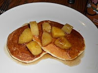 Pineapple Upside Down Pancakes