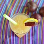 Plum Ginger Whiskey Sour
