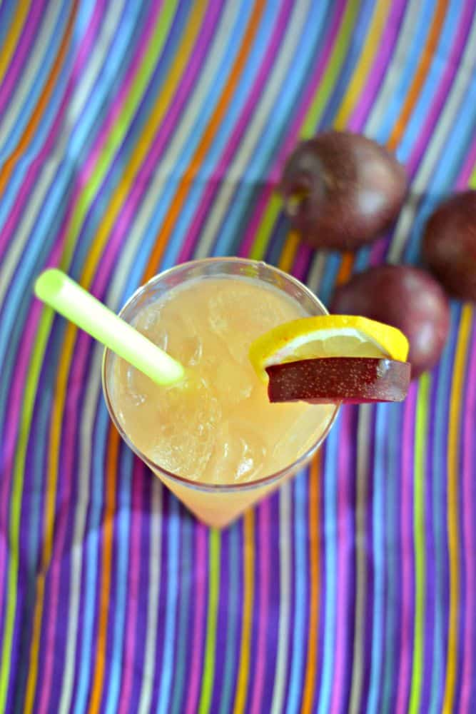Plum Ginger Whiskey Sour