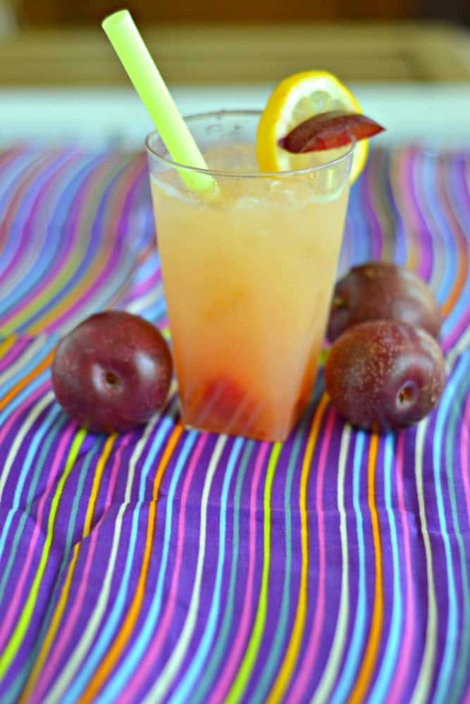 Plum Ginger Whiskey Sour is a sweet and tart beverage perfect for summer
