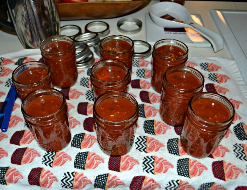 Simple Salsa is a traditional salsa using tomatoes, peppers, and onions.
