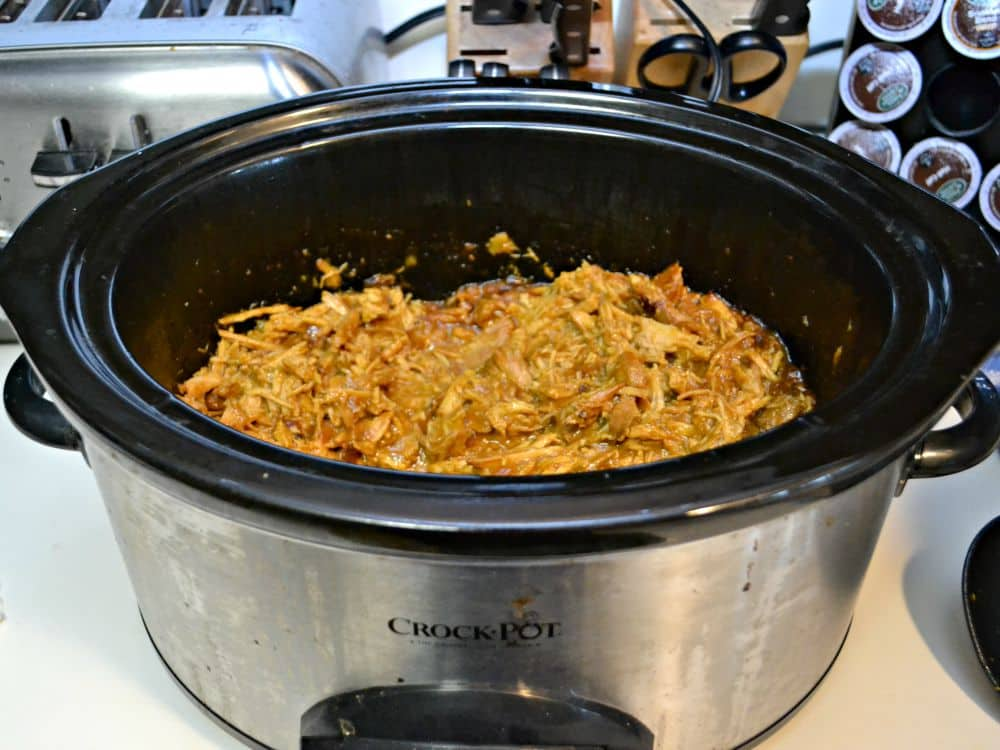 Slow Cooker Mustard Pulled Pork Sandwiches