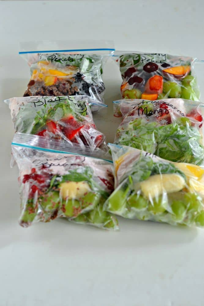 Smoothie Packs are great to make, freeze, and then take out any time you want a smoothie!