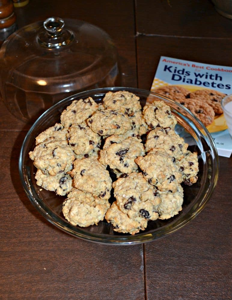 Delicious Chocolate Chip Cookies perfect for Diabetics!