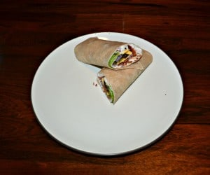 Turkey Bacon Ranch Wrap #SundaySupper