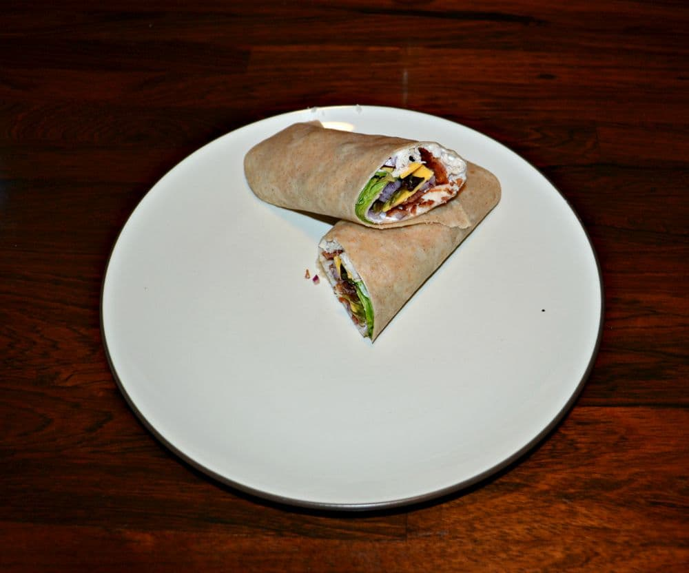 Turkey Bacon Ranch Wraps are easy to make and perfect for school lunches