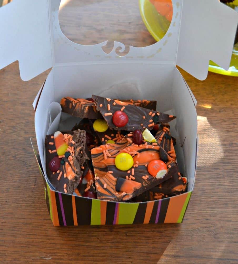Delicious Halloween Bark