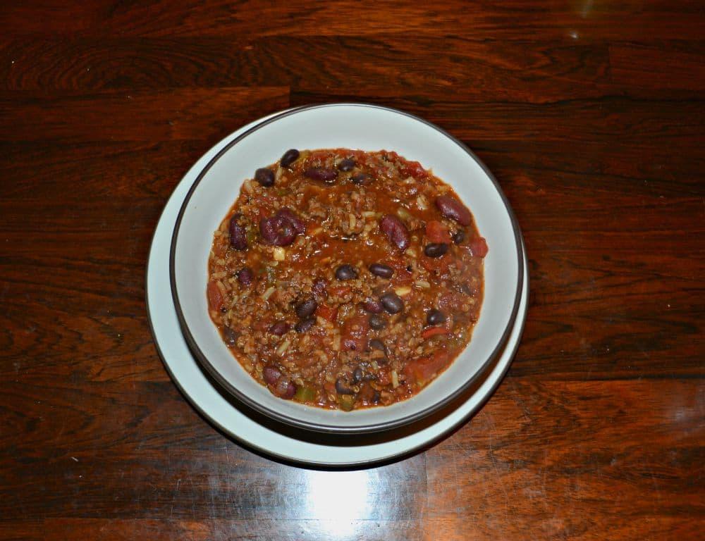 My favorite Chili recipe with Quinoa