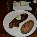 Herb and Garlic Compound Butter with Steak