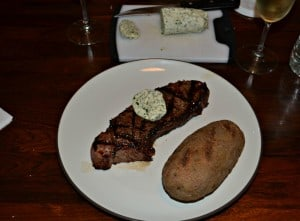 Tasty Herb and Garlic Compound Butter is delicious on Grilled Steaks