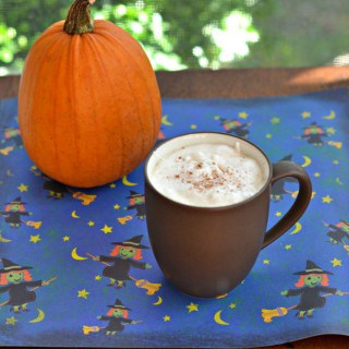 Add a little something to your coffee with this Drunken Pumpkin Spice Latte!