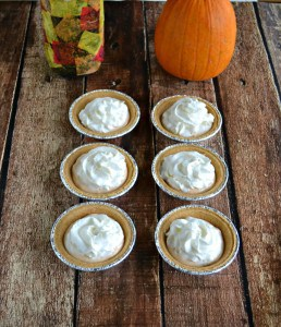 Try these Effortless Pumpkin Pies...they only have 3 ingredients!