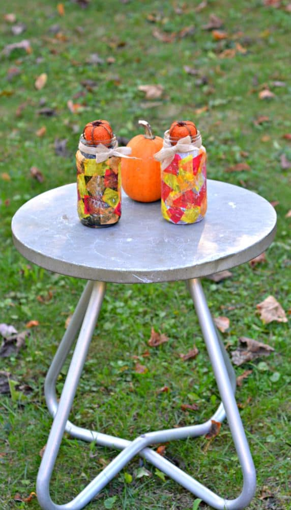 Easy and fun to make Fall Centerpieces