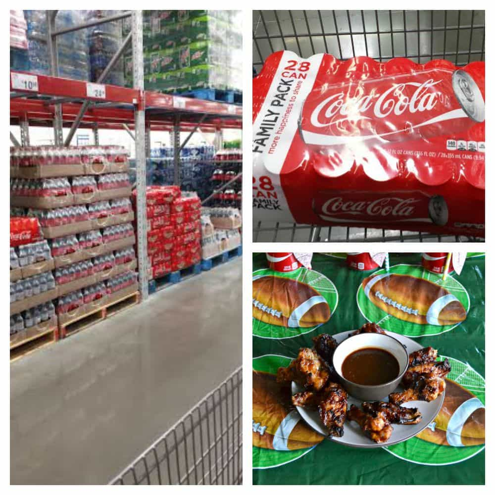 Sam's Club has everything you need for Game Day, including Coca-Cola!