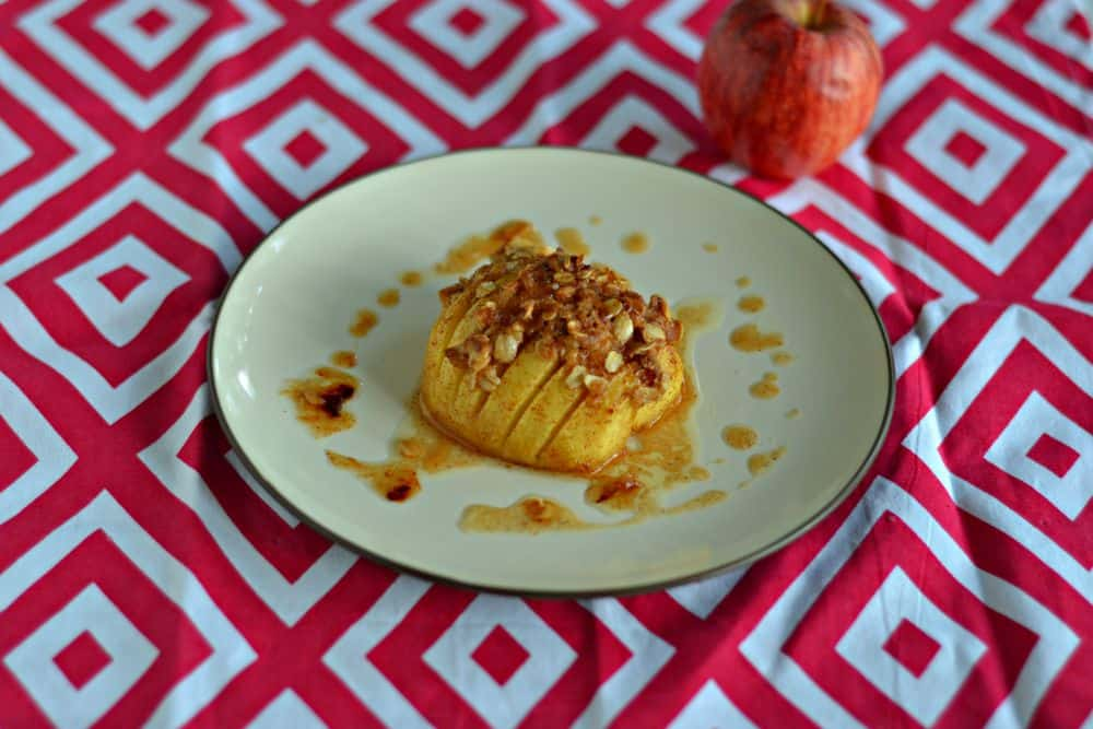 Hasselback Apples are a warm and delicious treat