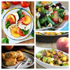21 Sweet and Savory Peach Recipes