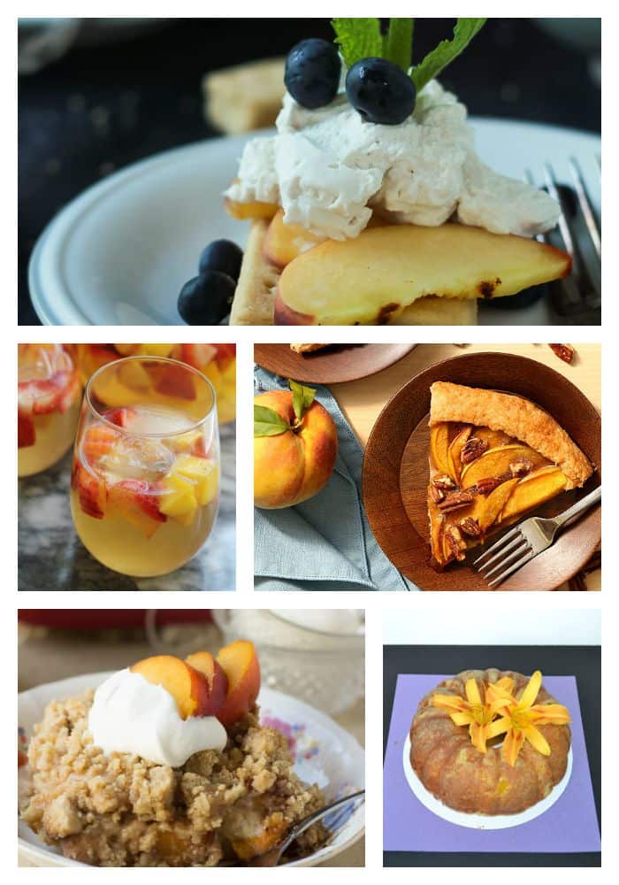 11 Fabulous Sweet Peach Recipes you're going to want to make now!