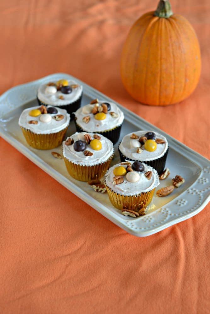 Ultimate Fall Dessert Recipe: Pecan Pie Stuffed Apple Cupcakes