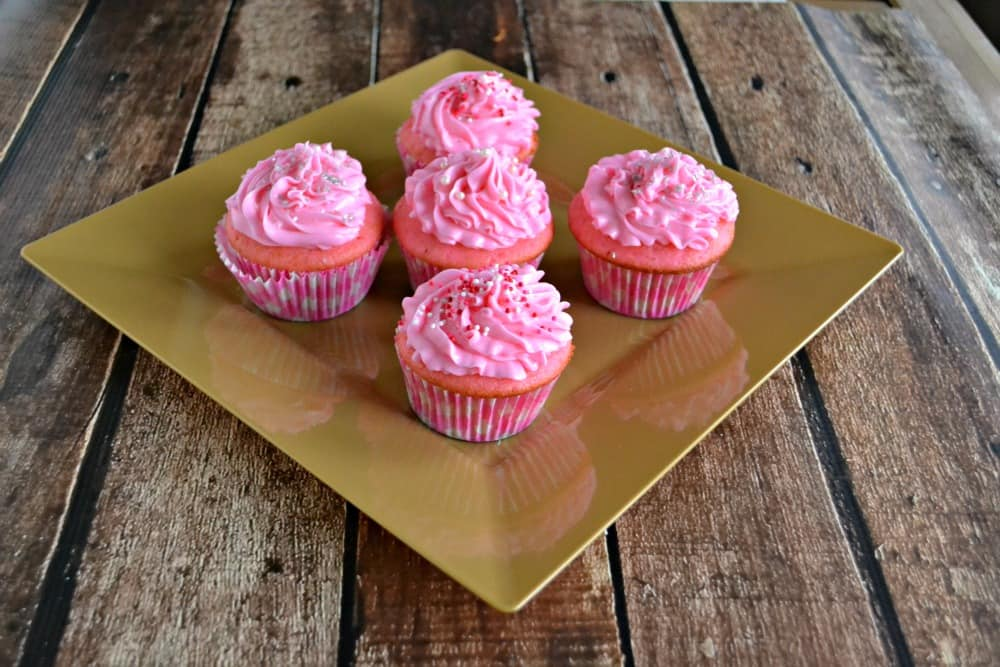 Pink Champagne Cupcakes 4