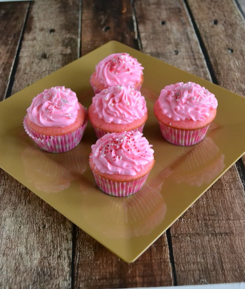Pink Champagne Cupcakes with Pink Champagne Buttercream Frosting is the perfect pair