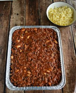 Chili and Rice Casserole {Freezer Meal}