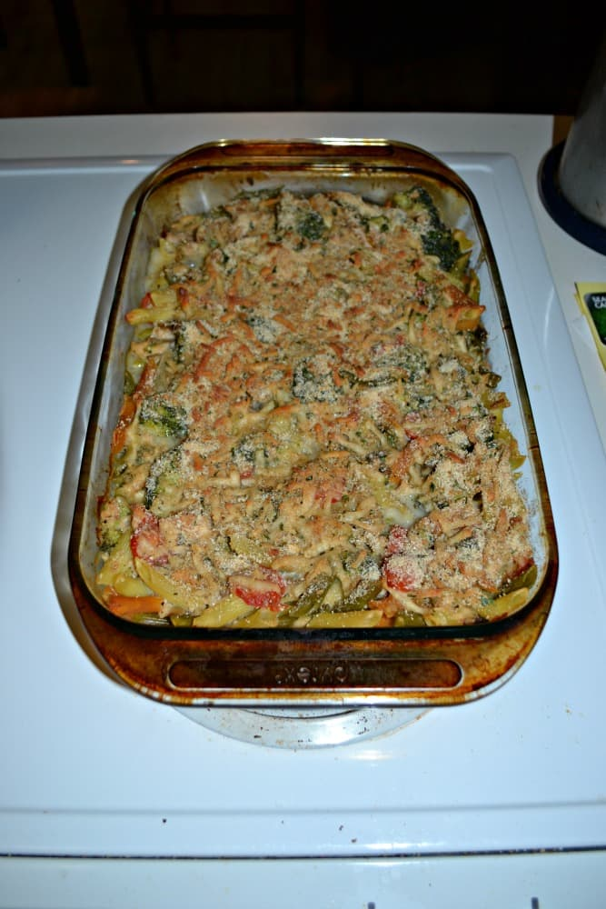 Creamy Tuna Pasta Bake is a delicious comfort meal
