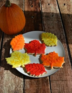 Leaf Sugar Cookies are a fun and easy cookie that is great for celebrating fall