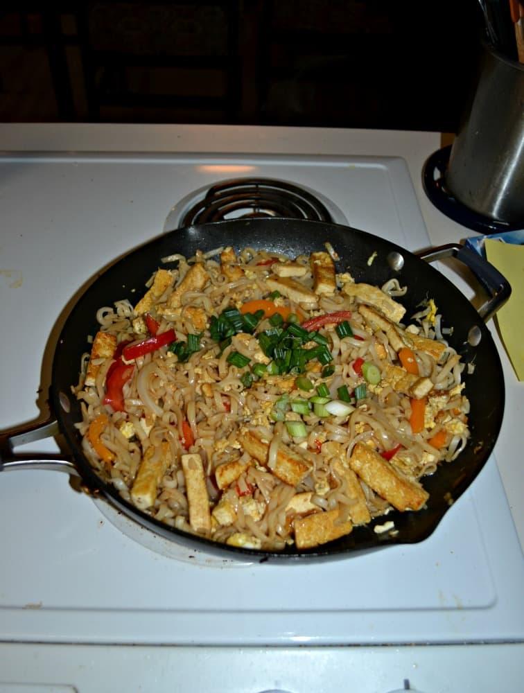 Cook up this delicioius Paht Thai tofu dish!