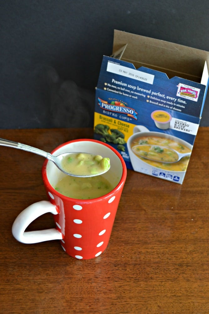 Love the warm and hearty Progresso Soup Bistro Cups that are made in your Keurig