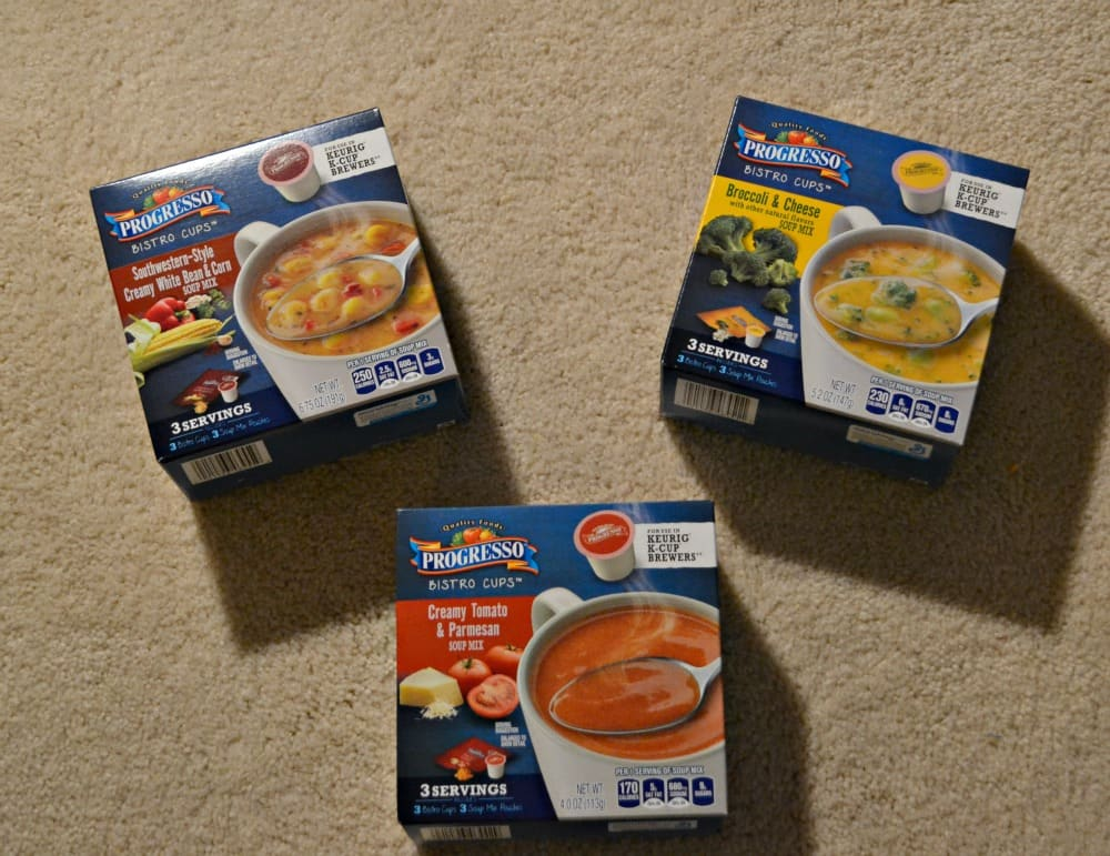 Check out the new Progresso Soup Bistro Cups in 3 delicious flavors!
