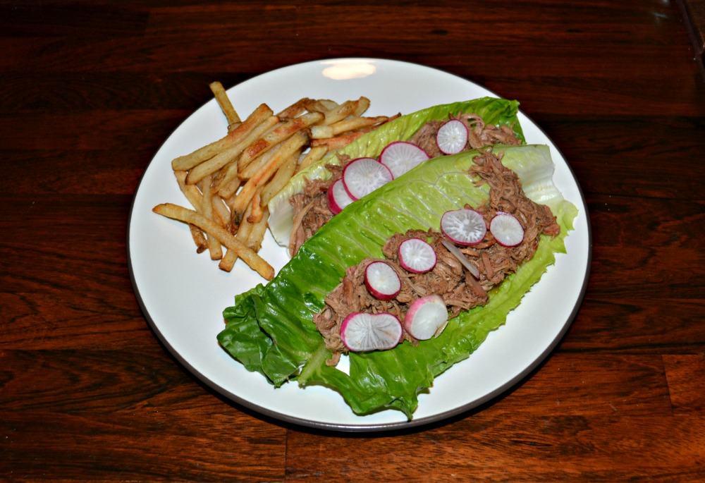 Crock-Pot Pulled Pork Lettuce Wraps