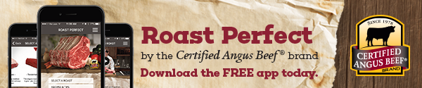Certfied Angus Beef Brand's Roast Perfect App