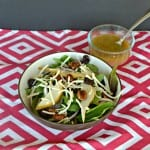 Winter Salad with Citrus Vinaigrette #SundaySupper
