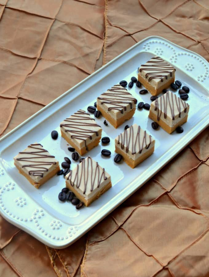 This easy Caramel and Coffee Fudge is great as a holiday gift!