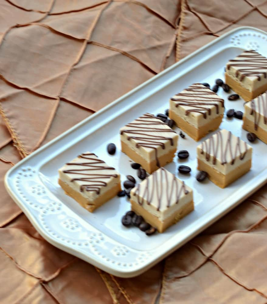Make this Caramel and Coffee Fudge for dessert tonight!