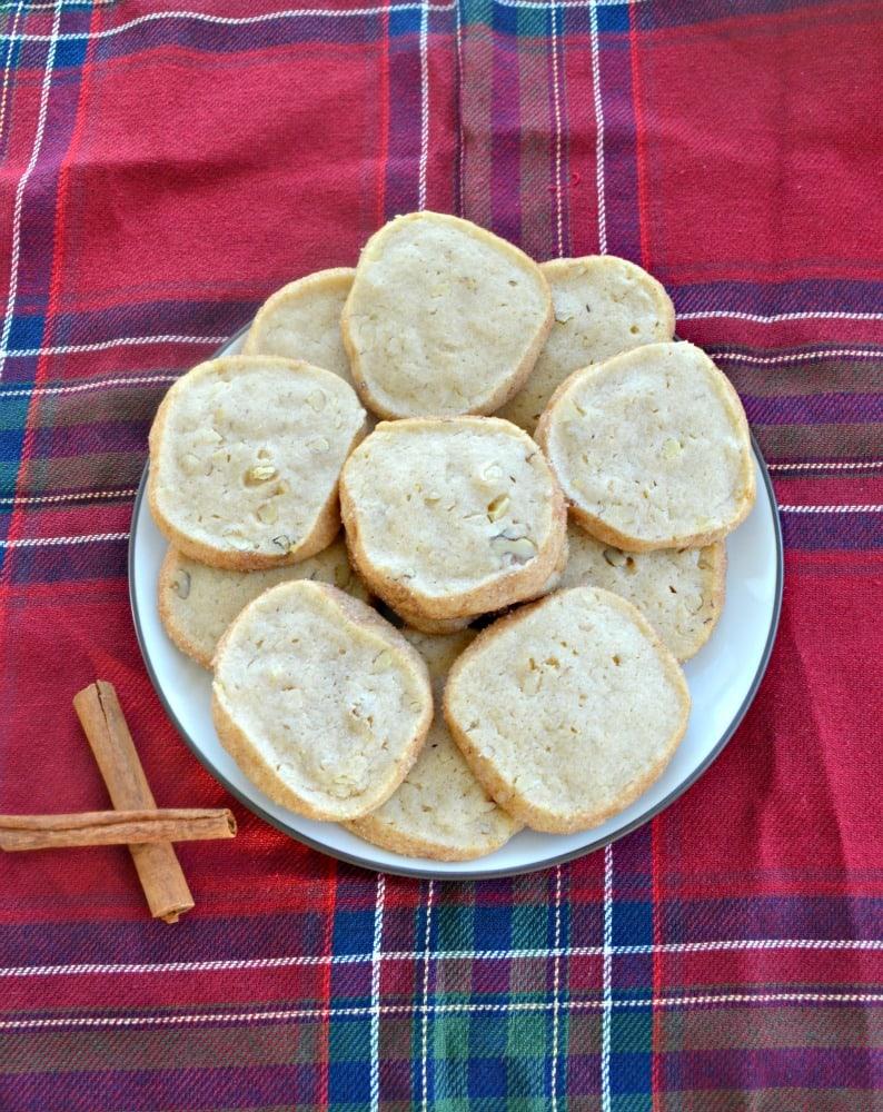 cinnamon walnut icebox cookies 2