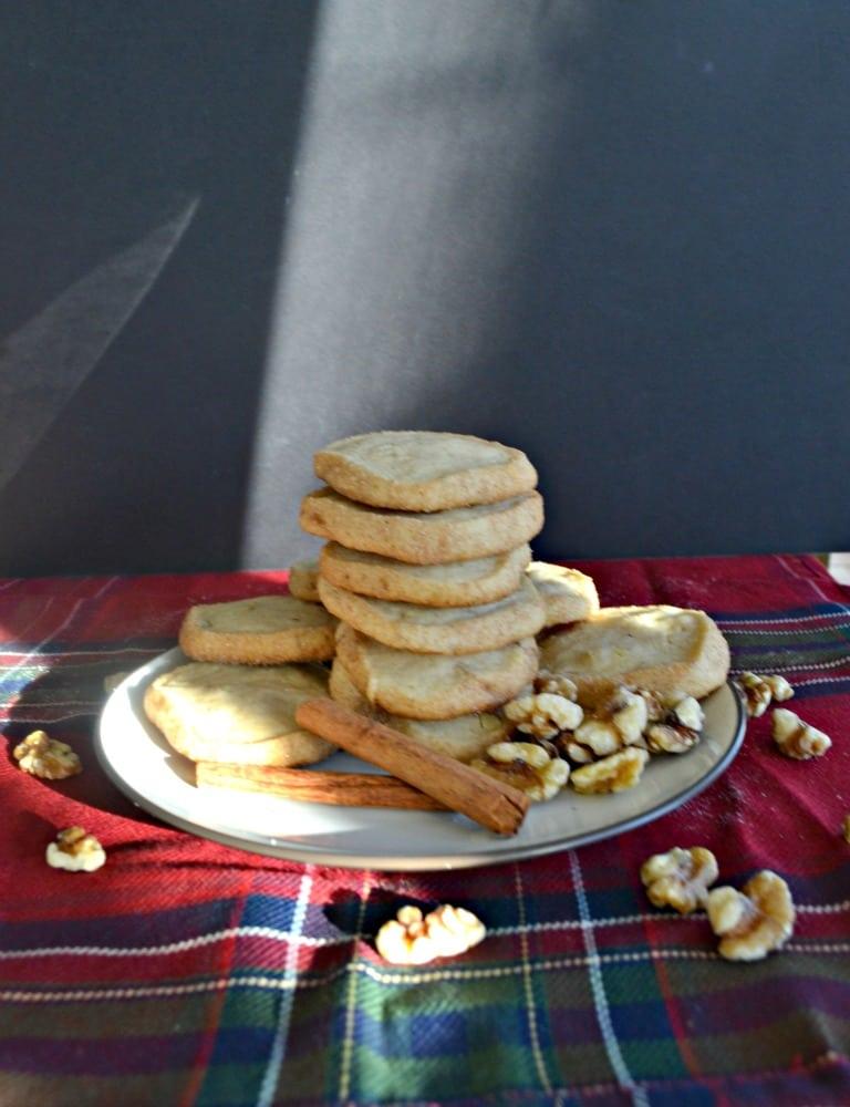 Cinnamon Walnut Icebox Cookies
