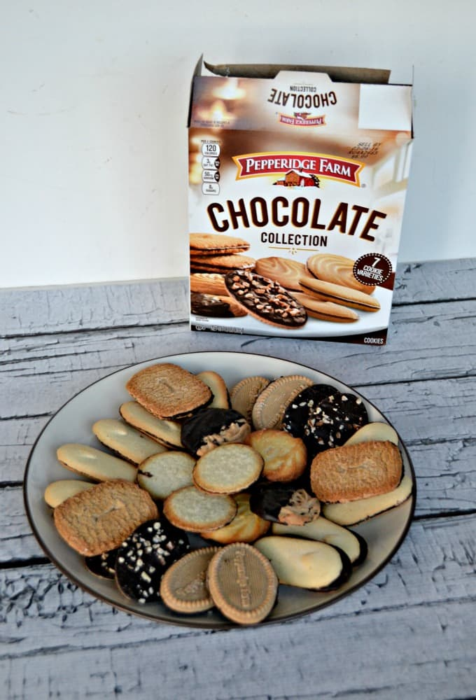 Pepperidge Farm Chocolate Collection Cookies are the perfect holiday dessert