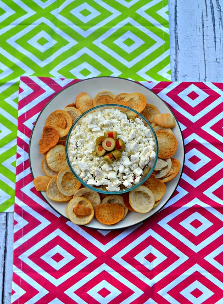 Delicious Mediterranean Layer Dip is perfect for parties
