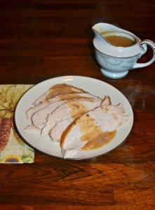 Roasted Turkey Breast with Homemade Gravy