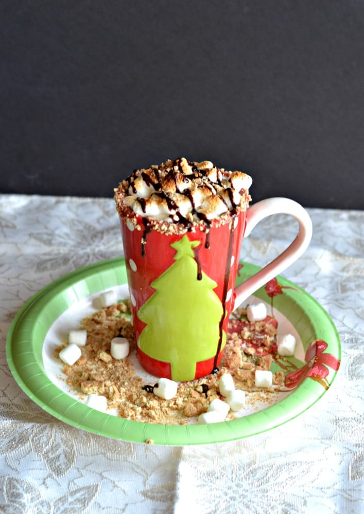 S'mores Hot Chocolate is a decadent beverage that is perfect for the holidays.