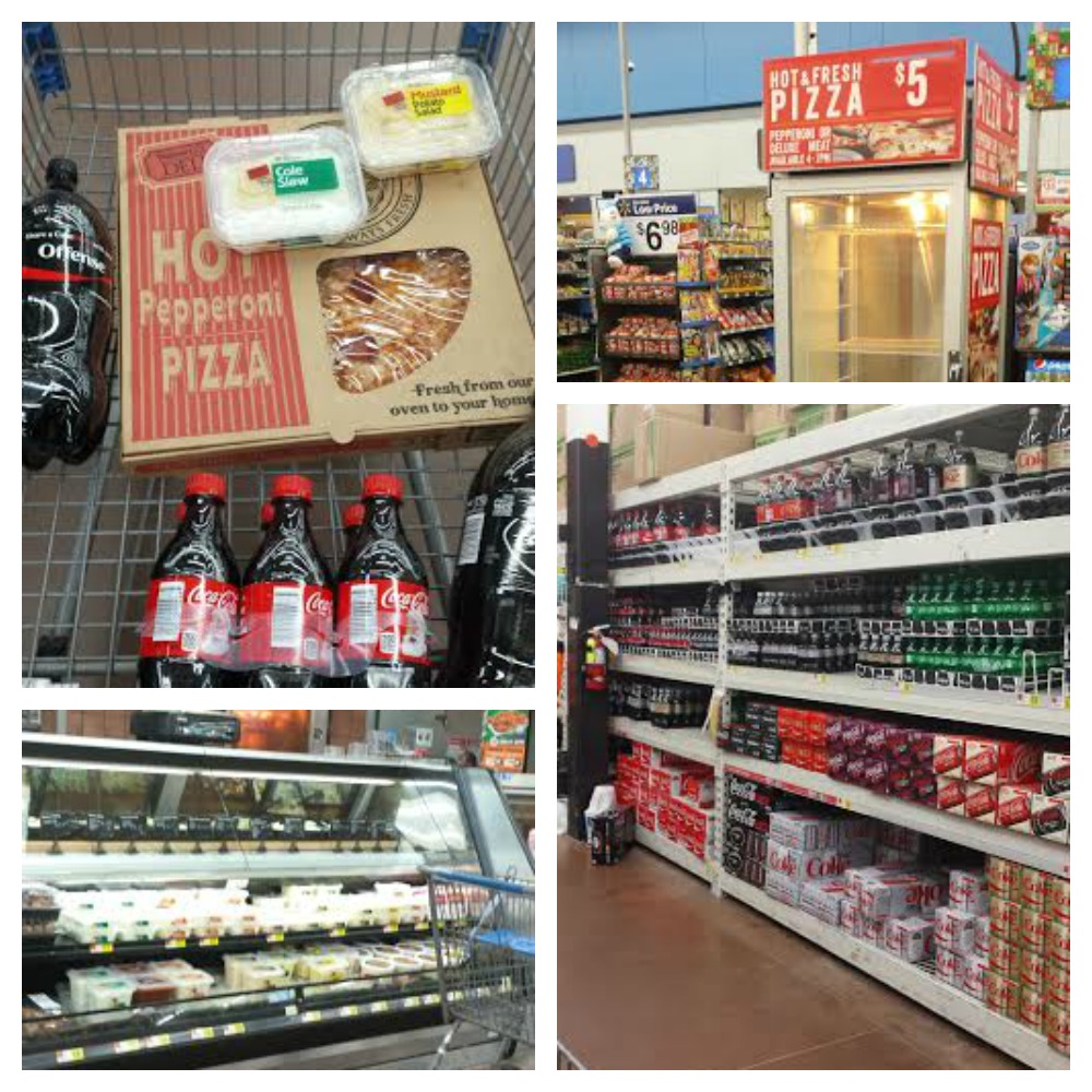 Everything you need for a delicious cooked meal at Walmart Deli and with Coca-Cola