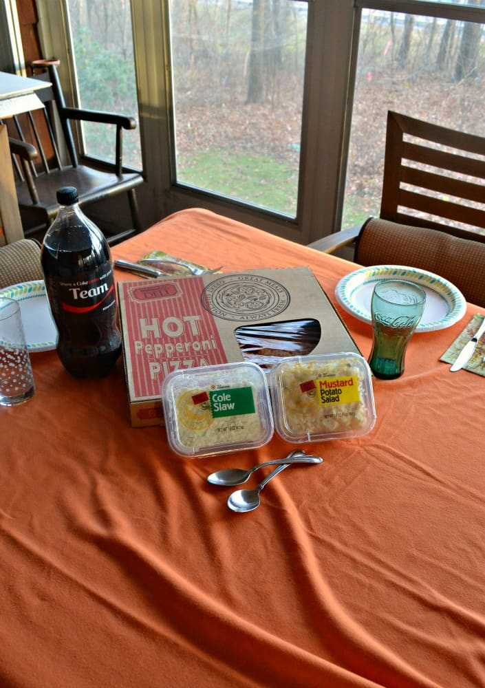 Everything you need for a hot and fresh meal at Walmart Deli...don't forget the Coke!