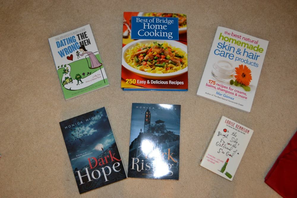ALl the Books giveaway