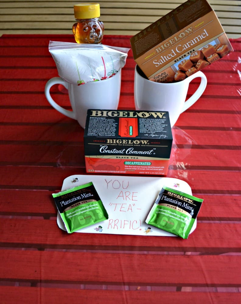 "Make a ""tea-rrific"" gift basket for the holidays"