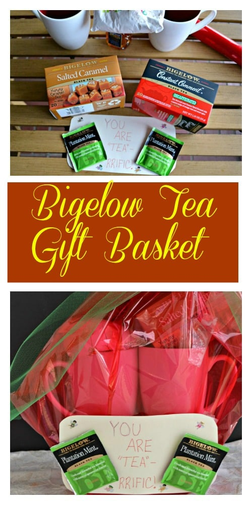 Give a Bigelow Tea Gift Basket this holiday!