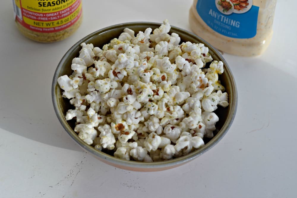 White Cheddar Ranch Popcorn