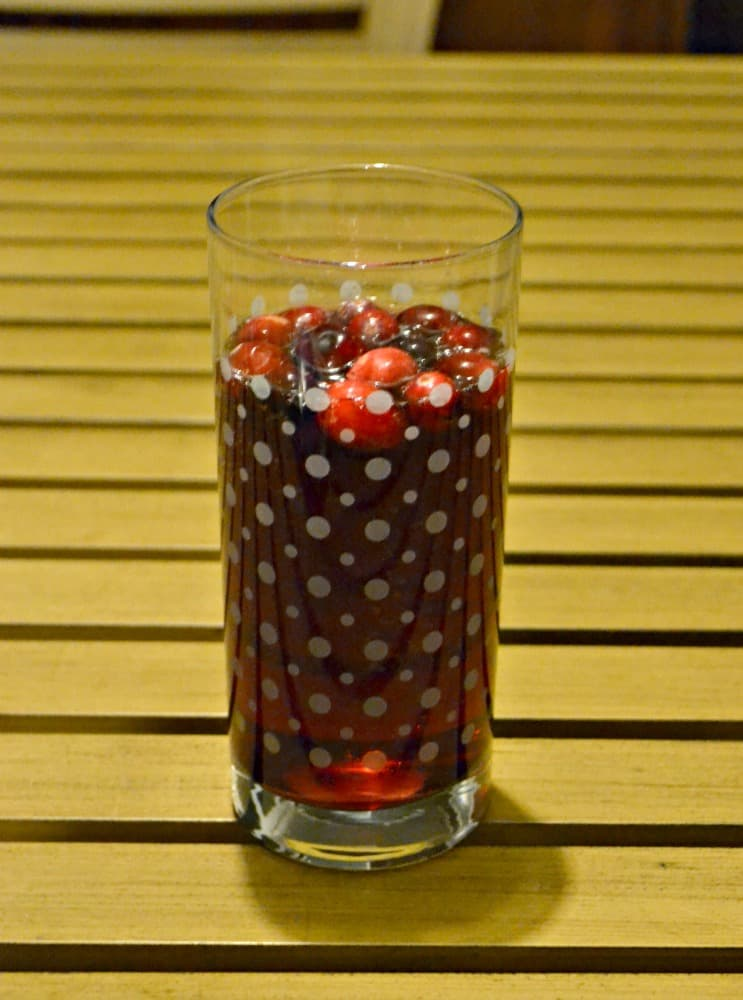 Red Cranberry Sangria is perfect for holidaay parties