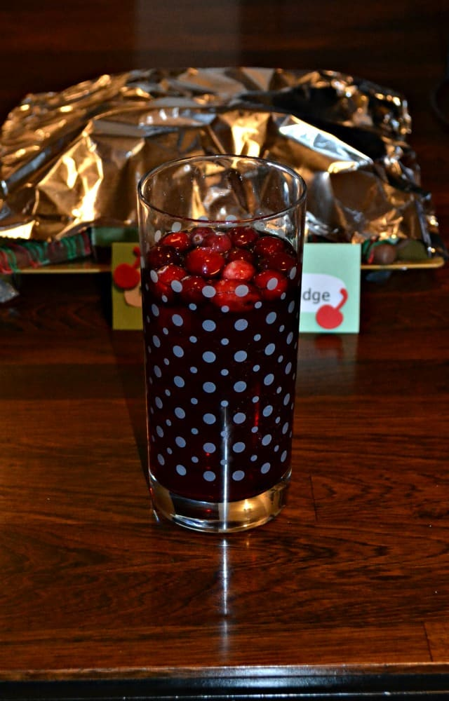 Red Cranberry Sangria is a great party beverage